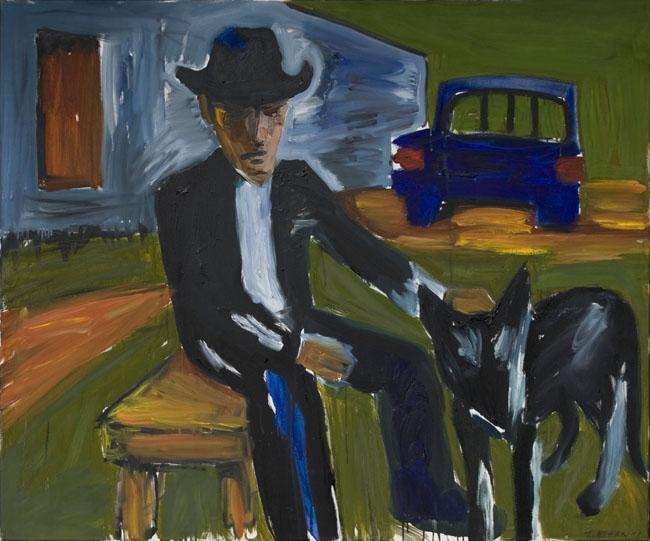 Bob Dylan z psem