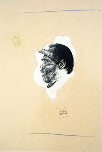 Autoportret z palcem II