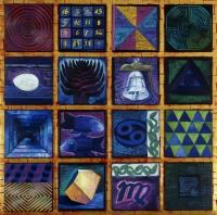 Kwadrat magiczny niebieski