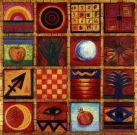 Kwadrat magiczny czerwony